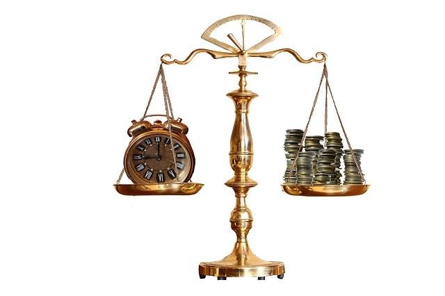 時間とお金を天秤にかける