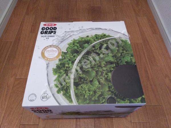 サラダスピナーの外箱