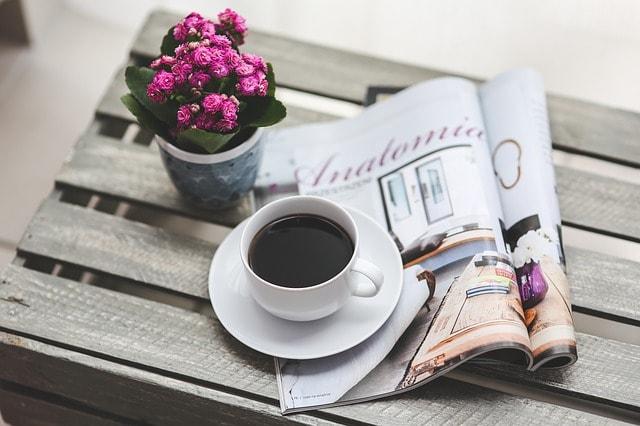 コーヒーと新聞