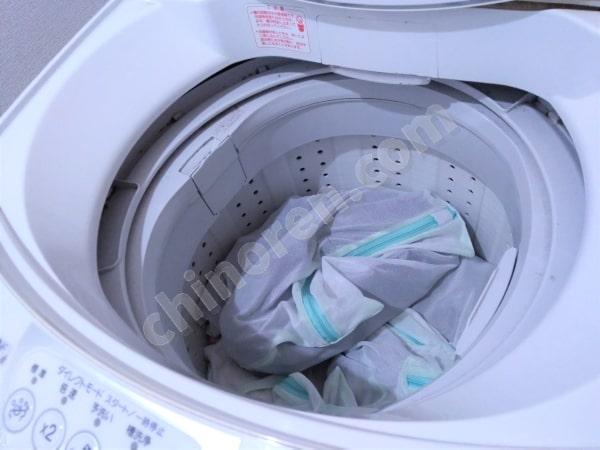 洗濯かごは使わない