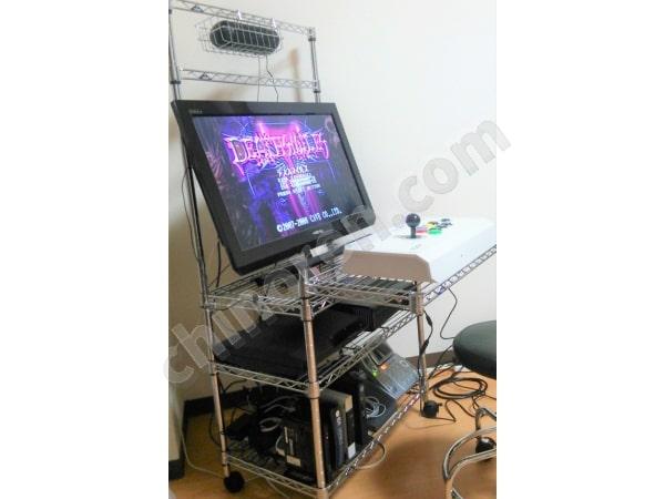 ゲームセンターを模したゲーム機(横画面)