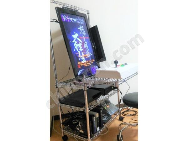 ゲームセンターを模したゲーム機(縦置き)